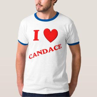 I Love Candace T-shirts