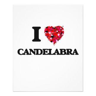I love Candelabra 11.5 Cm X 14 Cm Flyer