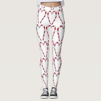 I love Candy Canes leggings