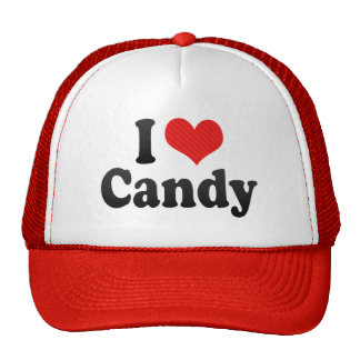 I Love Candy Hat