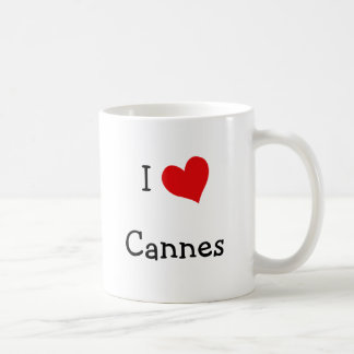 I Love Cannes Coffee Mug