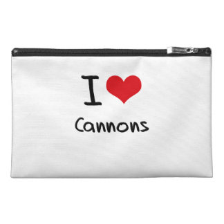 I love Cannons Travel Accessories Bag