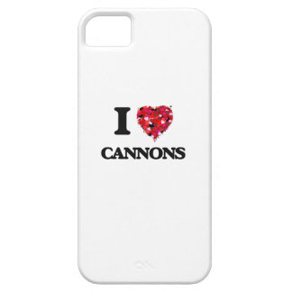 I love Cannons iPhone 5 Case