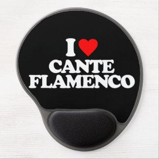 I LOVE CANTE FLAMENCO GEL MOUSE PAD