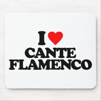 I LOVE CANTE FLAMENCO MOUSE PAD