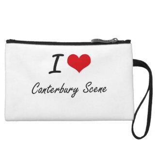 I Love CANTERBURY SCENE Wristlets