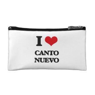 I Love CANTO NUEVO Cosmetics Bags