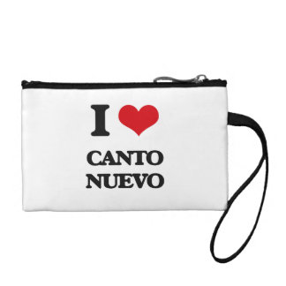 I Love CANTO NUEVO Change Purses