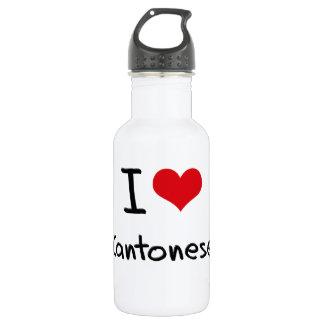 I love Cantonese 532 Ml Water Bottle