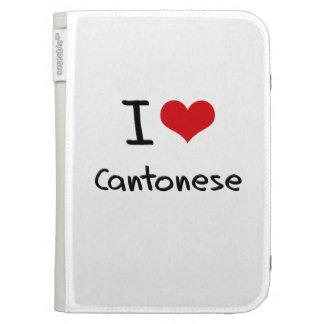 I love Cantonese Kindle 3 Case