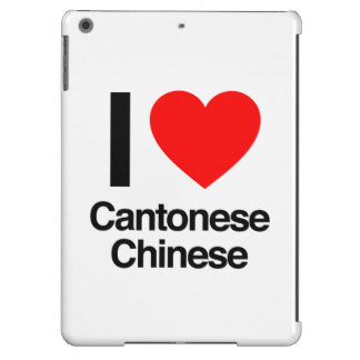 i love cantonese chinese iPad air cases