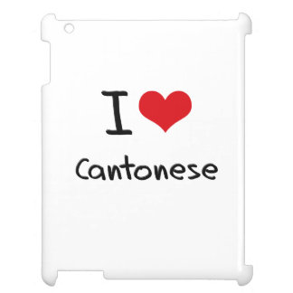 I love Cantonese iPad Cover