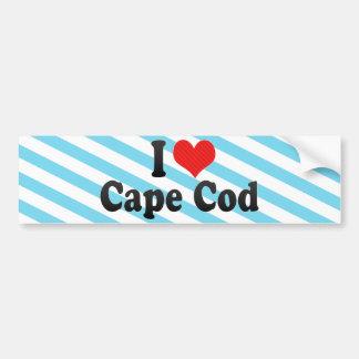 I Love Cape Cod Bumper Sticker