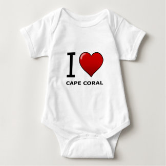 I LOVE CAPE CORAL,FL - FLORIDA BABY BODYSUIT