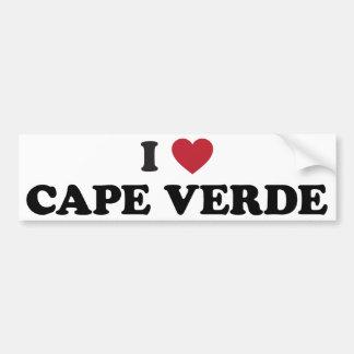 I Love Cape Verde Bumper Sticker