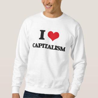 I love Capitalism Pullover Sweatshirt