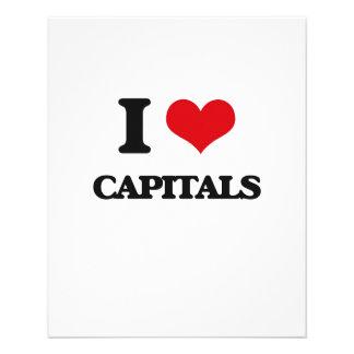 I love Capitals Flyer Design