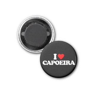 I LOVE CAPOEIRA 3 CM ROUND MAGNET