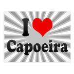 I love Capoeira Post Card