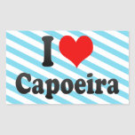 I love Capoeira Stickers