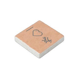 I Love capoeira Stone Magnet