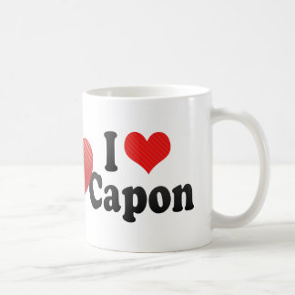 I Love Capon Coffee Mug