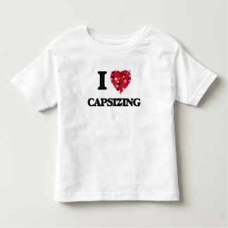 I love Capsizing Tee Shirt