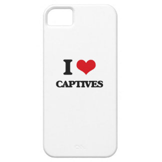 I love Captives Barely There iPhone 5 Case