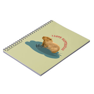 I love capybaras Notebook