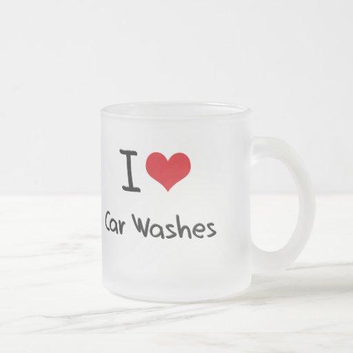 I love Car Washes Coffee Mug