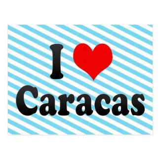 I Love Caracas, Venezuela Postcard