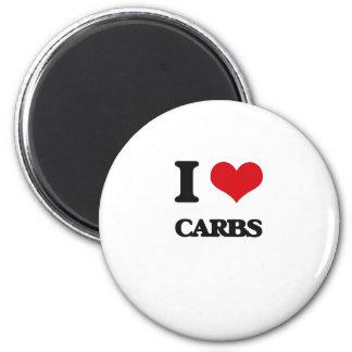 I Love Carbs Magnet