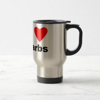 I Love Carbs! Travel Mug