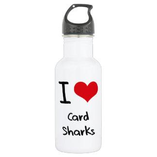 I love Card Sharks 532 Ml Water Bottle