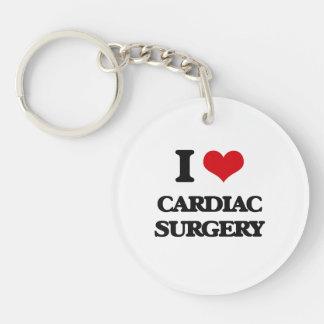 I love Cardiac Surgery Acrylic Key Chain