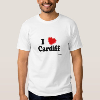I Love Cardiff Shirts