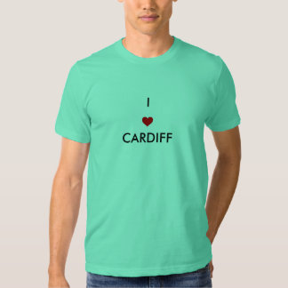 I LOVE CARDIFF TSHIRTS