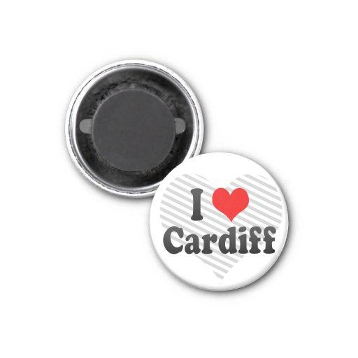 I Love Cardiff, United Kingdom Magnet