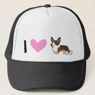 I Love Cardigan Welsh Corgis Trucker Hat