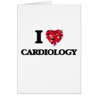 I love Cardiology Greeting Card