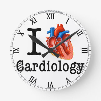 I love Cardiology Wallclock