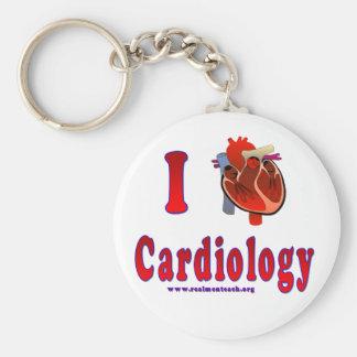 I Love Cardiology Key Ring