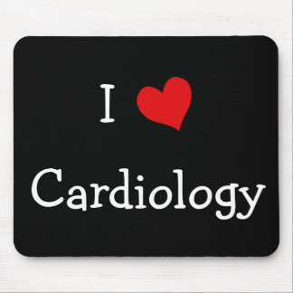 I Love Cardiology Mouse Mat
