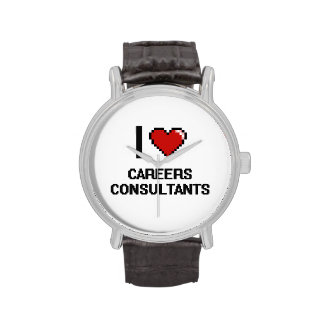 I love Careers Consultants Wristwatches