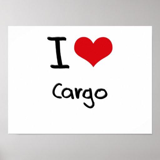 I love Cargo Print