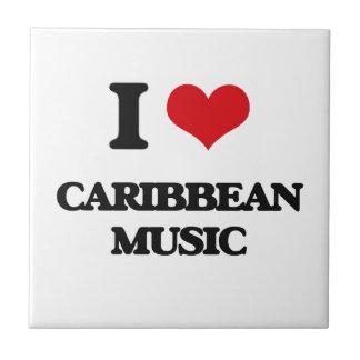 I Love CARIBBEAN MUSIC Tiles