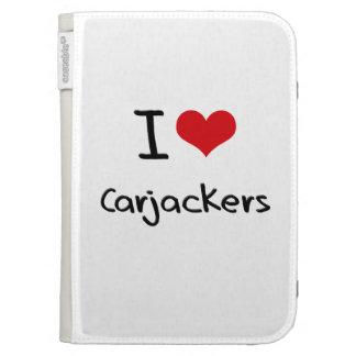 I love Carjackers Kindle Folio Cases