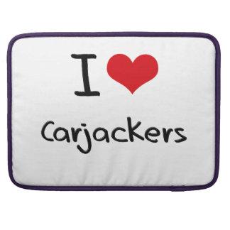 I love Carjackers Sleeves For MacBook Pro