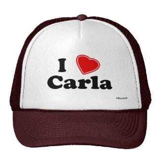 I Love Carla Mesh Hat