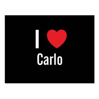I love Carlo Postcards